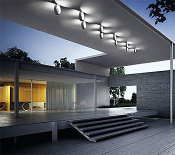 Fassaden wand leuchten in led technik - Terrassen wandleuchte ...