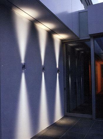 fassaden wand leuchten in led technik. Black Bedroom Furniture Sets. Home Design Ideas