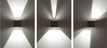 wandleuchten in led technik. Black Bedroom Furniture Sets. Home Design Ideas