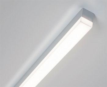 flache deckenleuchten in eckiger ausf hrung aus dem programm von wohlrabe lichtsysteme. Black Bedroom Furniture Sets. Home Design Ideas