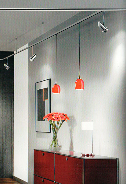 hochvolt schienensystem voltino duolare mit den pendelleuchten von bruck bankamp im programm. Black Bedroom Furniture Sets. Home Design Ideas