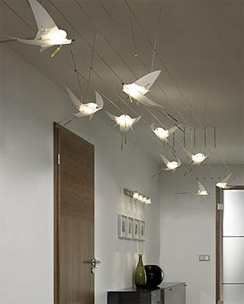 oligo charles glas pendelleuchte modern. Black Bedroom Furniture Sets. Home Design Ideas